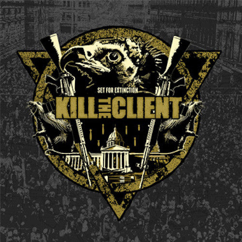 Kill The Client ‎– Set For Extinction LP (Grey Vinyl) - Grindpromotion Records
