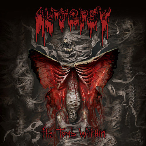 Autopsy  ‎– The Tomb Within LP - Grindpromotion Records