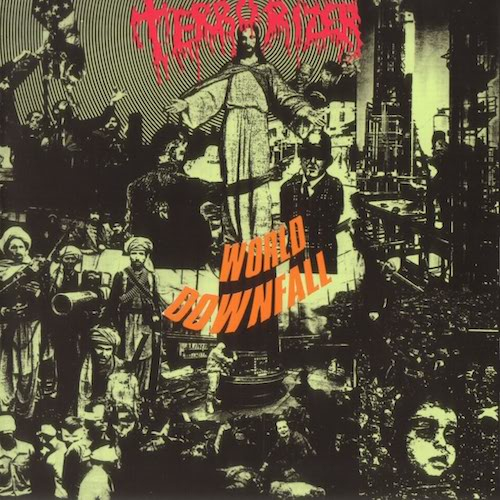 Terrorizer ‎– World Downfall LP - Grindpromotion Records