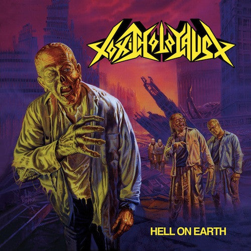 Toxic Holocaust - Hell On Earth LP (Purple Vinyl) - Grindpromotion Records