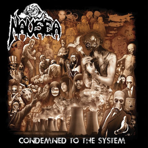 Nausea ‎– Condemned To The System LP (Red Vinyl)