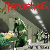 "Haemorrhage / Gruesome Stuff Relish ‎– Hospital Thieves / Horror Will Hold You Helpless 10"" - Grindpromotion Records"