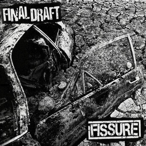 "Final Draft / Fissure - Final Draft / Fissure 7"" (White Vinyl) - Grindpromotion Records"