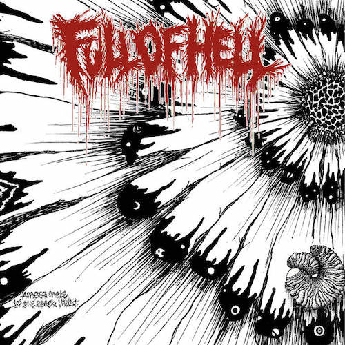 "Full Of Hell ‎– Amber Mote In The Black Vault 7"" (Metalic Gold Vinyl) - Grindpromotion Records"