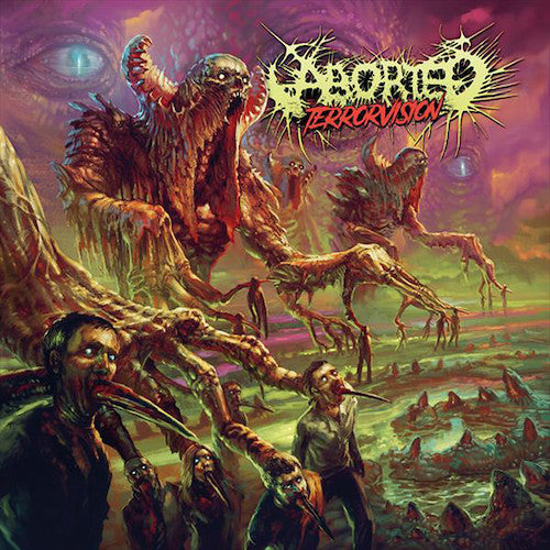 Aborted ‎– Terrorvision LP+CD - Grindpromotion Records