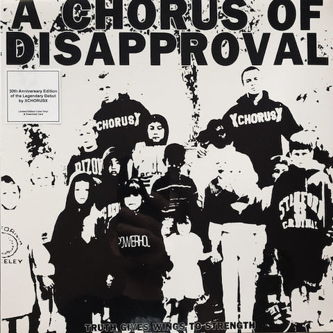 A Chorus Of Disapproval ‎– Truth Gives Wings To Strength LP