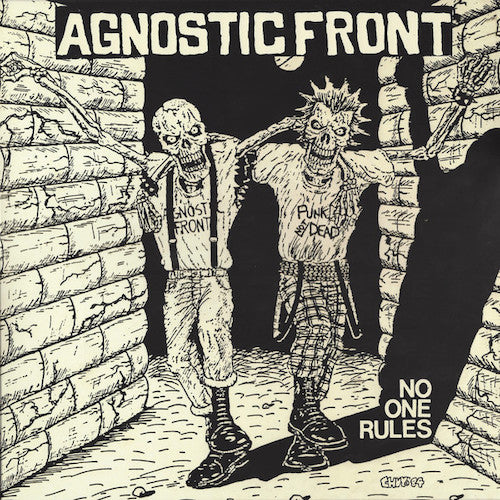 Agnostic Front ‎– No One Rules LP - Grindpromotion Records