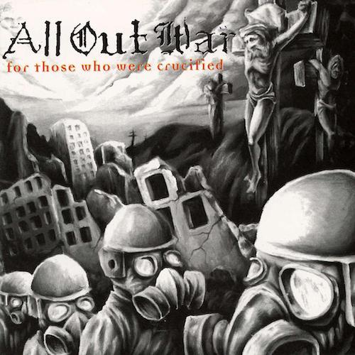 All Out War ‎– For Those Who Were Crucified LP - Grindpromotion Records