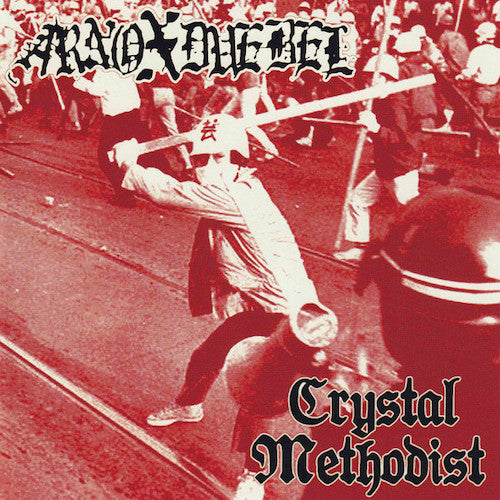 "Arno X Duebel / Crystal Methodist ‎– Arno X Duebel / Crystal Methodist 7"" - Grindpromotion Records"