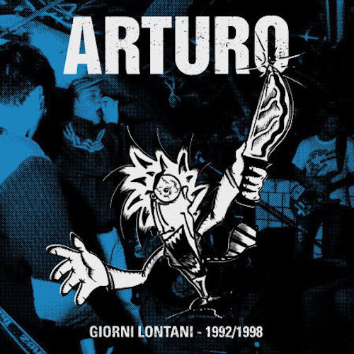Arturo ‎– Giorni Lontani - 1992/1998 LP+CD - Grindpromotion Records