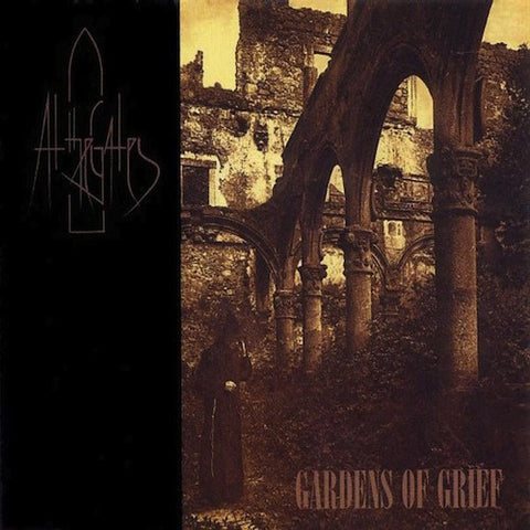 At The Gates ‎– Gardens of Grief LP (Single Side Gold Vinyl)