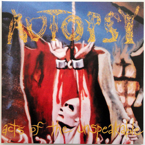 Autopsy ‎– Acts Of The Unspeakable LP - Grindpromotion Records