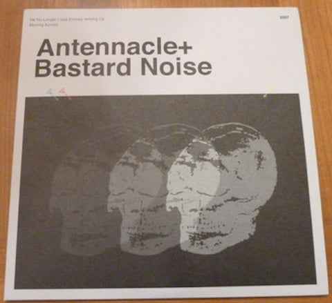 "Antennacle + Bastard Noise ‎– For Rick Gribenas 7"" (Blue Vinyl)"