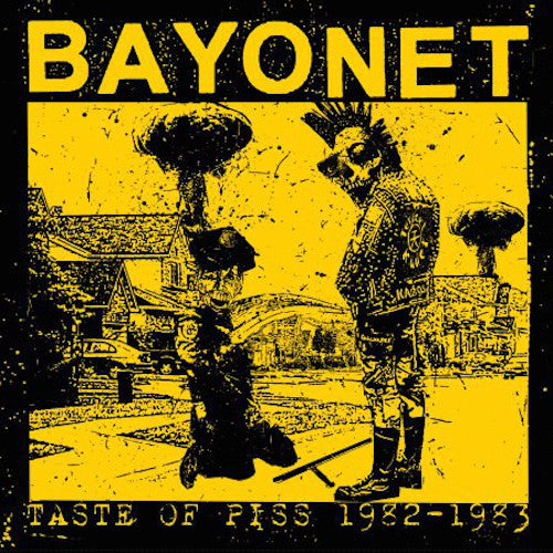Bayonet ‎– Taste Of Piss 1982-1983 LP+CD - Grindpromotion Records