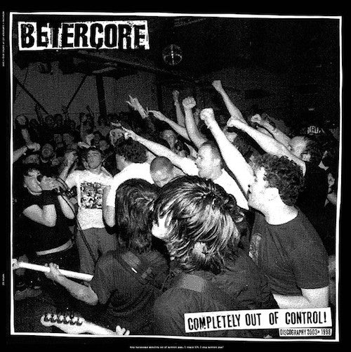 Betercore ‎– Completely Out Of Control LP