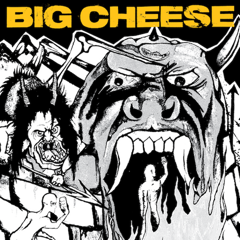 Big Cheese - Don't Forget To Tell The World LP