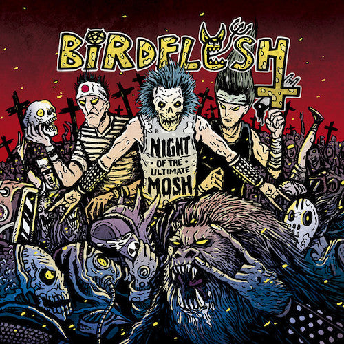 Birdflesh ‎– Night Of The Ultimate Mosh LP - Grindpromotion Records