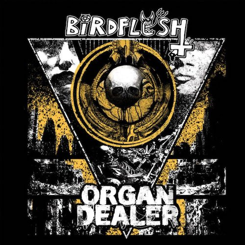 Birdflesh / Organ Dealer ‎– Birdflesh / Organ Dealer ‎LP - Grindpromotion Records