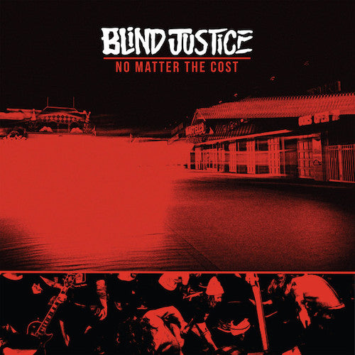 Blind Justice – No Matter The Cost LP (Yellow Vinyl) - Grindpromotion Records