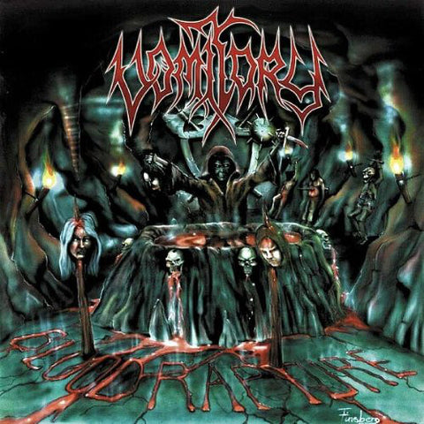 Vomitory ‎– Blood Rapture LP