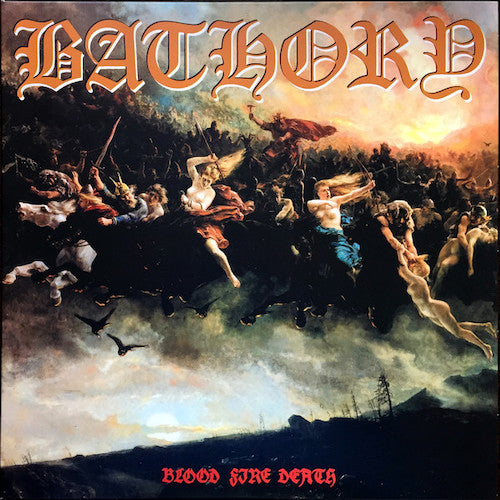 Bathory ‎– Blood Fire Death LP - Grindpromotion Records