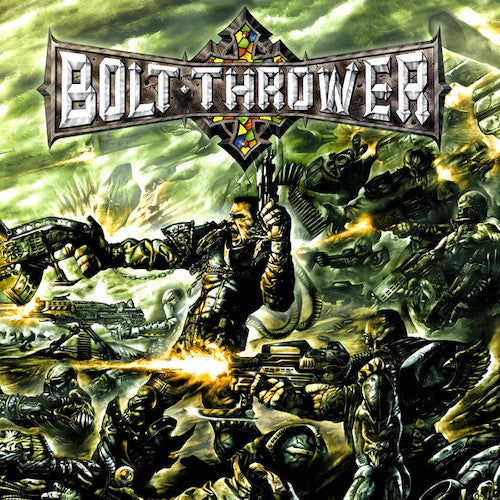 Bolt Thrower ‎– Honour - Valour - Pride 2XLP (180g) - Grindpromotion Records