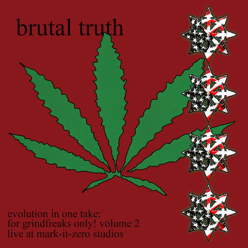 Brutal Truth ‎– Evolution In One Take: For Grindfreaks Only! Volume 2 LP - Grindpromotion Records