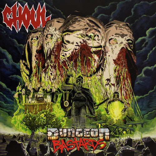 Ghoul ‎– Dungeon Bastards LP (Green Vinyl)