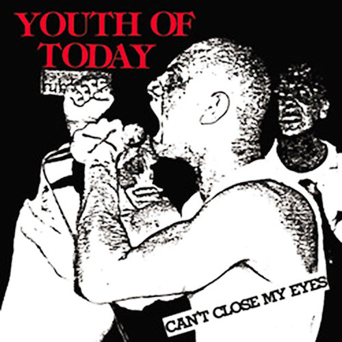 Youth Of Today ‎– Can't Close My Eyes LP (Blue Translucent Vinyl) - Grindpromotion Records