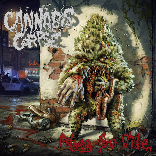 Cannabis Corpse ‎– Nug So Vile LP