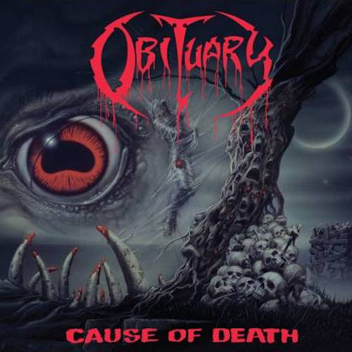 Obituary ‎– Cause Of Death LP - Grindpromotion Records