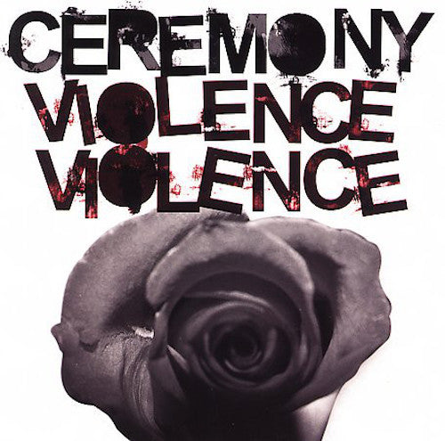 Ceremony ‎– Violence Violence LP (Pink Vinyl) - Grindpromotion Records