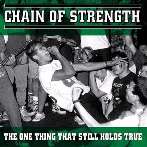 Chain Of Strength ‎– The One Thing That Still Holds True LP (Green Marble Vinyl) - Grindpromotion Records