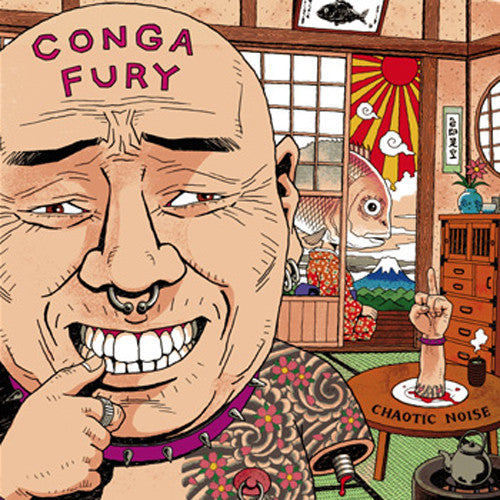 Conga Fury ‎– Chaotic Noise LP - Grindpromotion Records