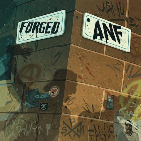 "ANF / FORGED - Anf / Forged 7"" (Acid Green Clear Vinyl) ***PRE-ORDER***"
