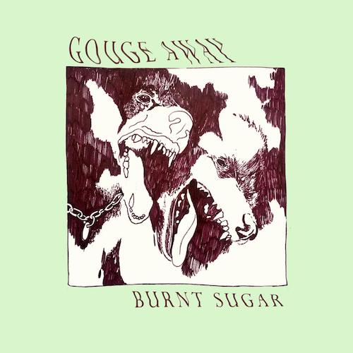Gouge Away - Burnt Sugar LP (Transparent Green Vinyl) - Grindpromotion Records