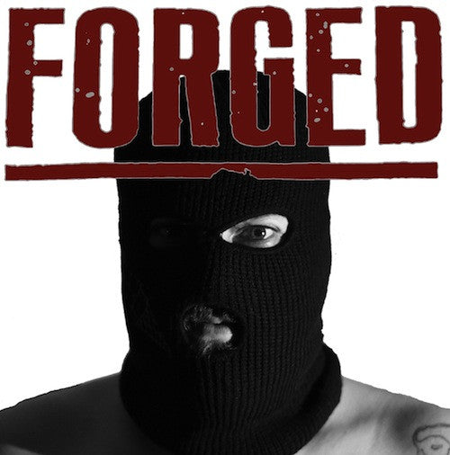 "Forged -  Forged 7"" (Clear Red Vinyl) - Grindpromotion Records"