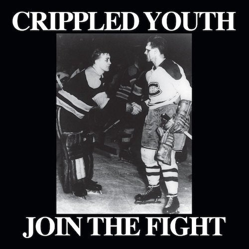 "Crippled Youth ‎– Join The Fight 7"" (Red Vinyl+28 pg. Booklet) - Grindpromotion Records"