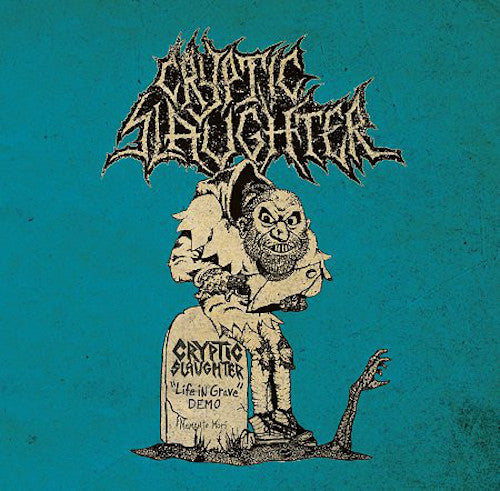 Cryptic Slaughter ‎– Life In Grave + Rehearsals / Live 1985-1987 LP+Book - Grindpromotion Records