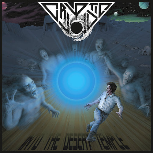 Cryptic Void - Into The Desert Temple LP - Grindpromotion Records