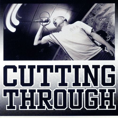 "Cutting Through ‎– Empathy 7"" (Transparent Gold Vinyl) - Grindpromotion Records"