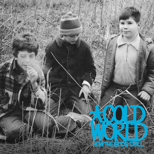 Cold World ‎– How The Gods Chill LP (Transparent Blue Vinyl) - Grindpromotion Records