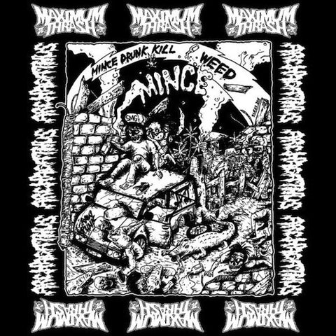 Archagathus / Maximum Thrash ‎– Mince Drunk Kill Weed 7""