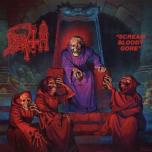 Death ‎– Scream Bloody Gore LP - Grindpromotion Records