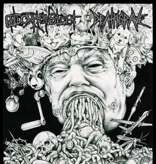 "Endorphins Lost / Deathgrave ‎– Endorphins Lost / Deathgrave 7"" - Grindpromotion Records"