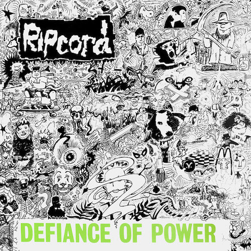 Ripcord ‎– Defiance Of Power 2XLP - Grindpromotion Records