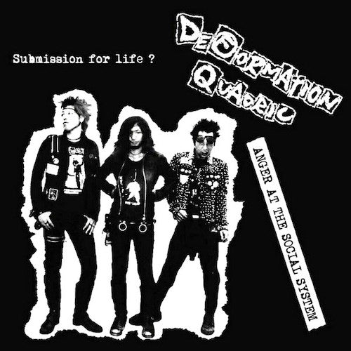Deformation Quadric ‎– Anger At The Social System LP