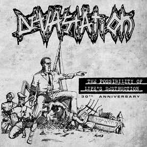 Devastation ‎– The Possibility Of Life's Destruction • 30th Anniversary LP+CD - Grindpromotion Records