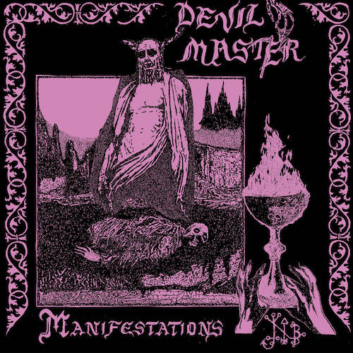 Devil Master - Manifestations LP - Grindpromotion Records