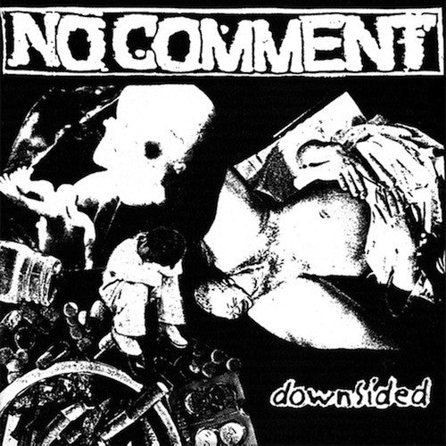 "No Comment ‎– Downsided 7""(Orange Vinyl) - Grindpromotion Records"